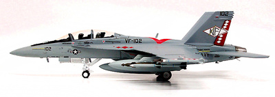 F/A-18F Super Hornet, USN VFA-102 Diamondbacks, 1:72, Witty Wings