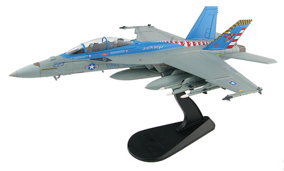 "F/A-18F Super Hornet 165801, VX-23 ""Salty Dogs"", Patuxent River, 2016, 1:72, Hobby Master"