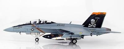F/A-18F Super Hornet 166620, VFA-103 Jolly Rogers, USS Eisenhower, 2012, 1:72, Hobby Master