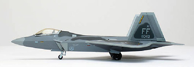 F/A-22A Raptor, US Air Force, 1:200, Herpa