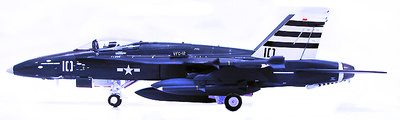 "F/A18C Hornet, VCF-12, US Navy, ""100 years Anniversary Naval Aviation"", 2011, 1:72, Witty Wings"