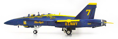 F/A18D Hornet, Blue Angels, 1:72, Witty Wings