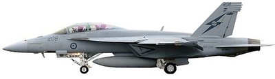"""F/A18F Australia Air force """"A44-208"""", 1:72, Witty Wings"""