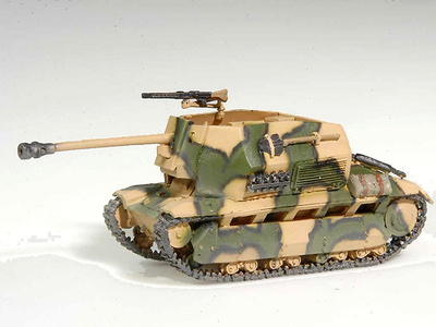 FCM, Cañón de 75mm., Francia, 1:72, Wespe Models