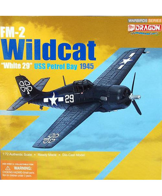 FM-2 Wildcat, VC-93, USS Petrof Bay, Abril 1945, 1:72, Dragon Wings