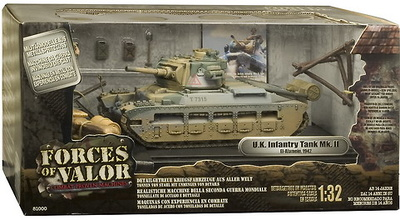 FOV - U.K. INFANTRY TANK Mk. II,  1:32, Forces of Valor