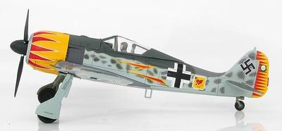 FW 190A-4 W. Nr. 634, Major Hermann Graf JG 2, Francia, 1943, 1:48, Hobby Master