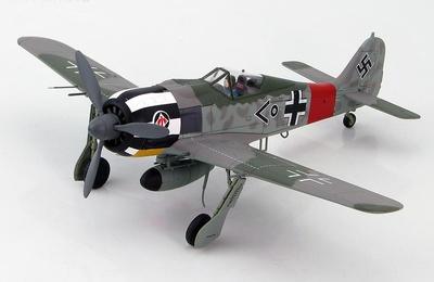 FW 190A-7 Stab I./JG 1, Oblt. Wilhelm Krebs, Dortmund Airfield, Jan. 1944, 1:48, Hobby Master