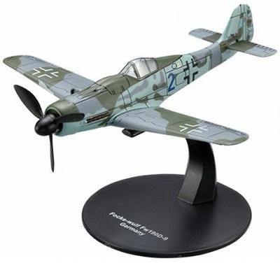 FW 190D-9, Luftwaffe, 2º G.M., 1:72, DeAgostini