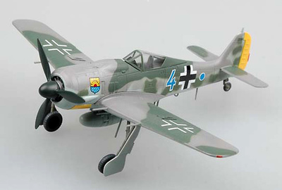 "FW190A-8 Luftwaffe 12.JG 5 ""Blue 4"", 1944, 1:72, Easy Model"
