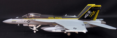 F/a-18 Super Hornet, Royal Maces VFA-27, 1:72, Witty Wings