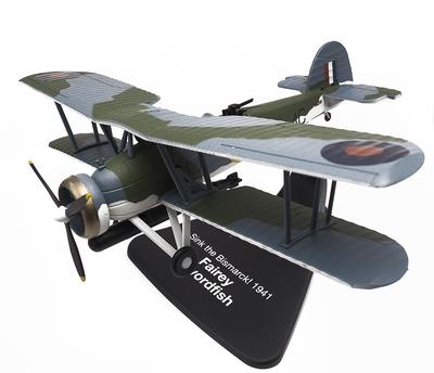"Fairey Swordfish, ""¡Hundid el Bismarck!"", 1941, 1:72, Atlas"