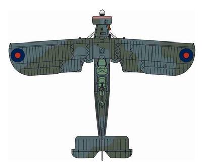 Fairey Swordfish Mk1, HMS Furious, Narvik, 1940, 1:72, Oxford