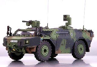 Fennek, Spähwagen Bundeswehr (BW), 1:35, Premium Classixxs