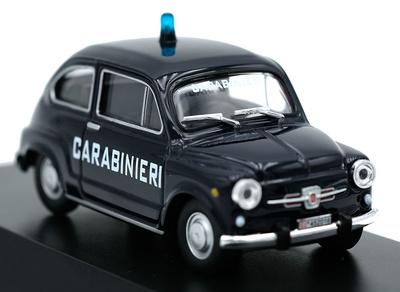 Fiat 600 D, 1967, 1/72, Colección Carabinieri