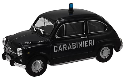 Fiat 600 D, 1967, Carabinieri Collection