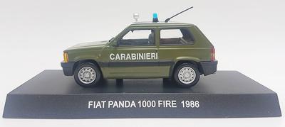 Fiat Panda 1000 Fire, Italy, 1986, 1/43, Carabinieri Collection