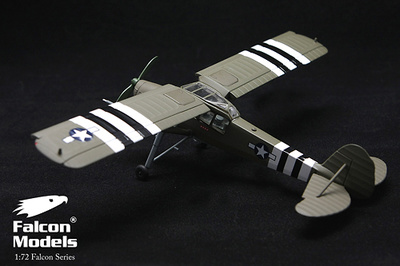 Fiesler Fi 156 Storch, USAAF, Dwight Eisenhower, Paris, France, 1944, 1:72, Falcon Models