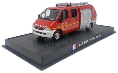 Fire Truck VPI Fiat Ducato, 2002, 1:57, Atlas Editions