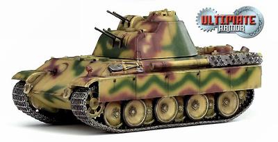 Flakpanzer 341 mit 2cm Flakvierling, Alemania, 1945, 1:72, Dragon Armor