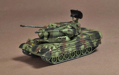 Flakpanzer Gepard Bundeswehr, Germany, 1976, 1:72, War Master