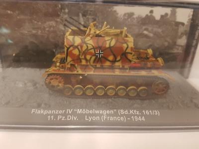 "Flakpanzer IV ""Möbelwagen"" (Sd.Kfz. 161/3) 11. Pz.Div. Lyon (France), 1944, 1:72, Altaya"