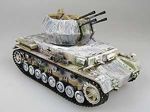 Flakpanzer IV Wirbelwind, Alsacia 1945, 1:72, Panzerstahl