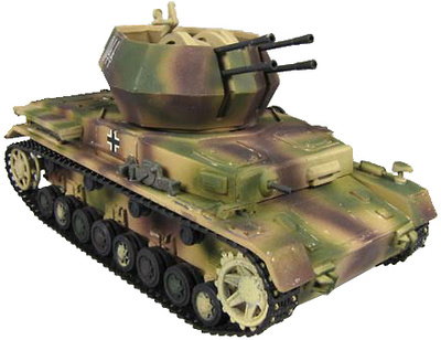 Flakpanzer IV Wirbelwind, Hungría 1945, 1:72, Panzerstahl