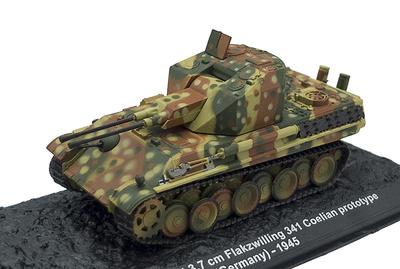 Flakpanzer Panther 3,7 cm., Berlín, 1945 1:72, Altaya