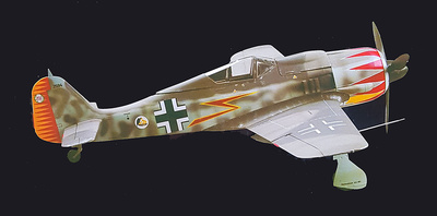 Focke Wulf 190 FW 190A-5, Major Graf, 1:18, Merit