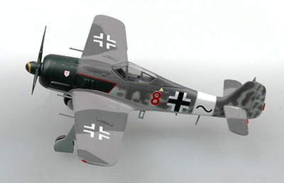 Focke Wulf 190A-1 I/JG54 Walter Nowotny, 1943, 1:72, Easy Model