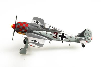 Focke Wulf 190A-6 2./JG 1, 1943, 1:72, Easy Model