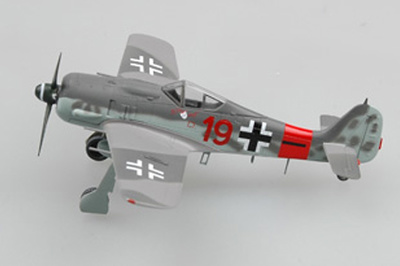 Focke Wulf 190A-8./ JG3, Junio, 1944, 1:72, Easy Models