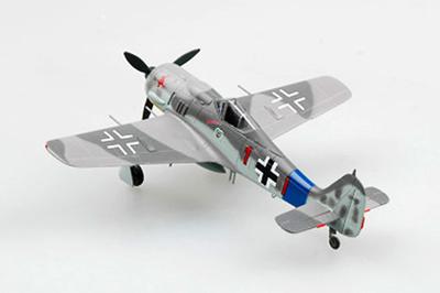 """Focke Wulf FW 190A-8./""""Red 1"""" 12./JG 54, Francia, Verano, 1944, 1:72, Easy Models"""