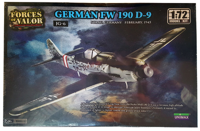Focke Wulf FW 190D-9, Sorau, Alemania, Febrero, 1945, 1:72, Forces of Valor
