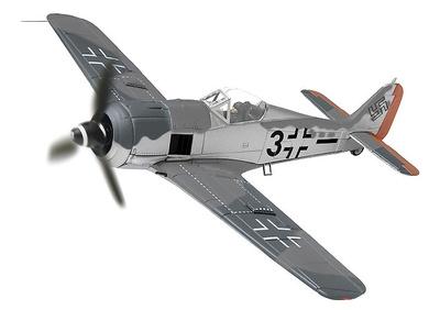Focke-Wulf Fw 190F-8, 'Black 3' Feldwebel Eugen Lorcher, II./SG2, 5 Staffel, Aufthausen, Mayo, 1945, 1:72, Corgi