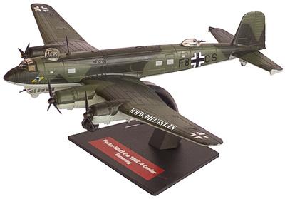 Focke-Wulf Fw 200 C-4 Condor, Alemania, 1:144, Altaya
