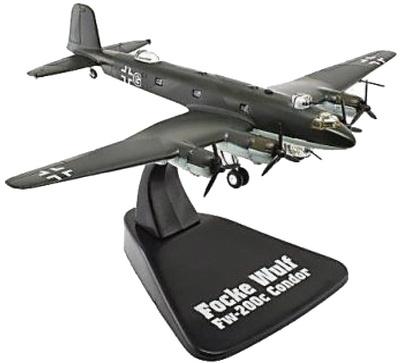 Focke-Wulf Fw 200c Condor, 1937/44, 1:144, Editions Atlas
