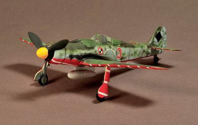 Focke Wulf Fw190, Munich-Riem, 1945 'Wubke', 1:72, War Master
