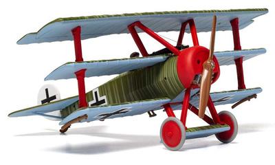 Fokker DR.1 Triplane, Wolfram Freiherr von Richthofen, 21 de Abril de 1918, 1:48, Corgi