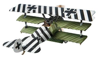 Fokker DR1, 586/17, Ltn. Hans Kirschstein, Jasta 6, Cappy, April, 1918, 1:48, Corgi