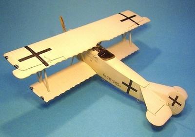 Fokker DRVII, F 5125/18, Hermann Göring, Agosto, 1918, 1:30, John Jenkins