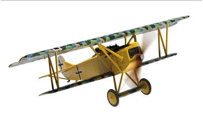 Fokker DVII Oblt Erich Lowenhardt, Puisieux-Ferme, Agosto, 1918, 1:48, Corgi