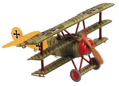 Fokker Dr.1 - Lothar von Richthofen, 1:48, Corgi
