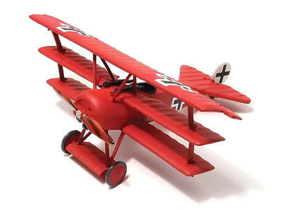 "Fokker Dr.I JG I ""The Flying Circus"", Manfred von Richthofen, Alemania, 1918, 1:72, Wings of the Great War"