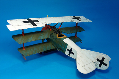 Fokker Dr1, 545/17,  JASTA 11,  Cappy,  Abril-Mayo, 1918, 1:30, John Jenkins