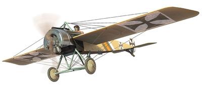 Fokker E.II, piloto Kurt von Crailsheim, FFA 53, Monthois, Francia, Octubre, 1915, 1:48, Corgi