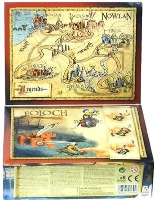 Foloch, serie Legends, Exin Castillos