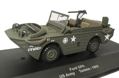 Ford GPA, US Army, Túnez, 1943, 1:43, Atlas