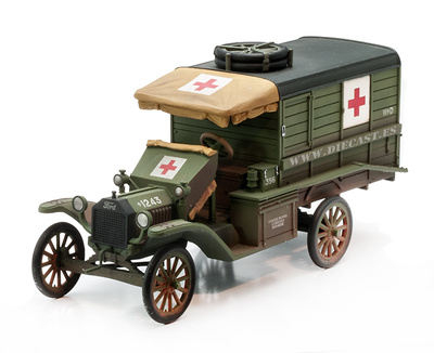 Ford T Ambulance, 1918, 1:30, John Jenkins